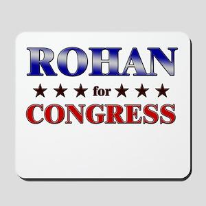 ROHAN for congress Mousepad