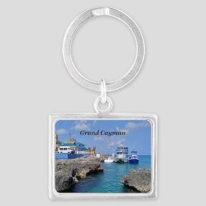 Grand Cayman Landscape Keychain