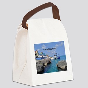 Grand Cayman Canvas Lunch Bag