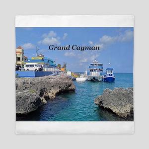 Grand Cayman Queen Duvet