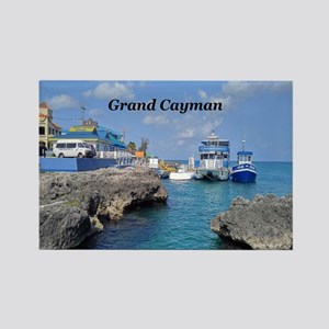 Grand Cayman Rectangle Magnet