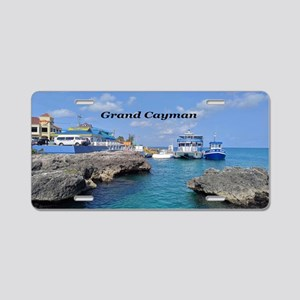 Grand Cayman Aluminum License Plate
