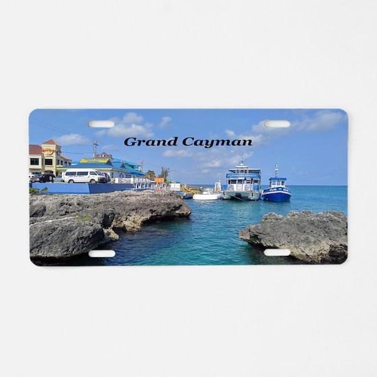 Grand Cayman Aluminum License Plate