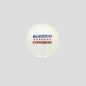 RODRIGO for congress Mini Button