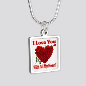 I Love You With All My Heart! Necklaces