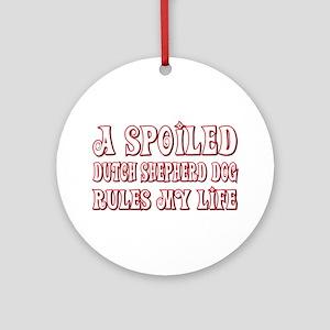 Spoiled Shepherd Ornament (Round)