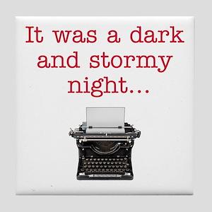 Dark & Stormy - Tile Coaster