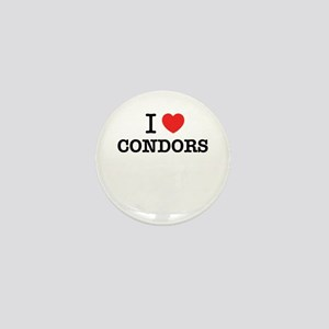 I Love CONDORS Mini Button