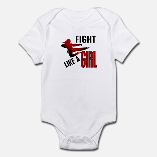 Fight Like a Girl 4.1 Infant Bodysuit