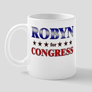 ROBYN for congress Mug