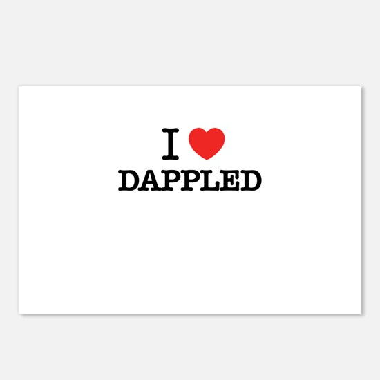 I Love DAPPLED Postcards (Package of 8)