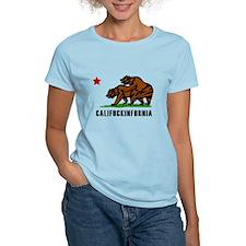 Califuckinfornia Women's Light T-Shirt