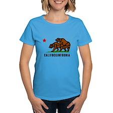 Califuckinfornia Women's Dark T-Shirt