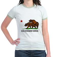 Califuckinfornia Jr. Ringer T-Shirt
