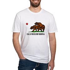 Califuckinfornia Fitted T-Shirt