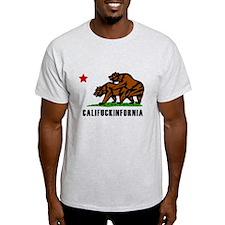 Califuckinfornia Light T-Shirt