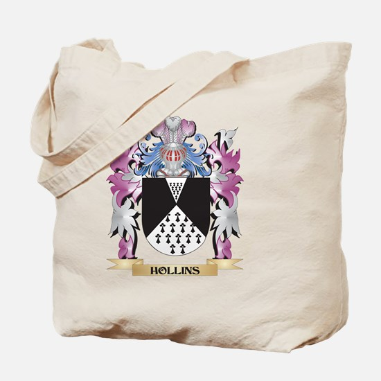 Hollins Coat of Arms (Family Crest) Tote Bag