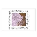 """""""Snow""""/snowystairs Postcards (package Of"""