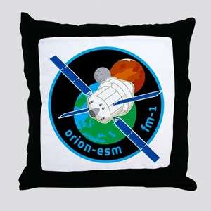 Orion ESM Logo Throw Pillow