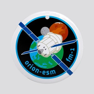 Orion ESM Logo Round Ornament