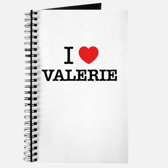 I Love VALERIE Journal