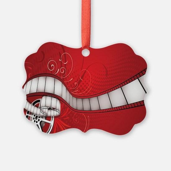 MOVIE REEL Ornament