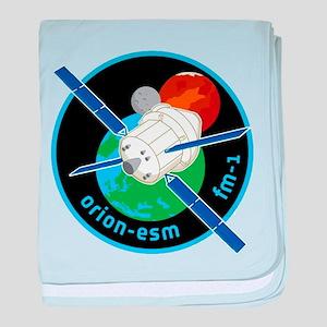 Orion ESM Logo baby blanket