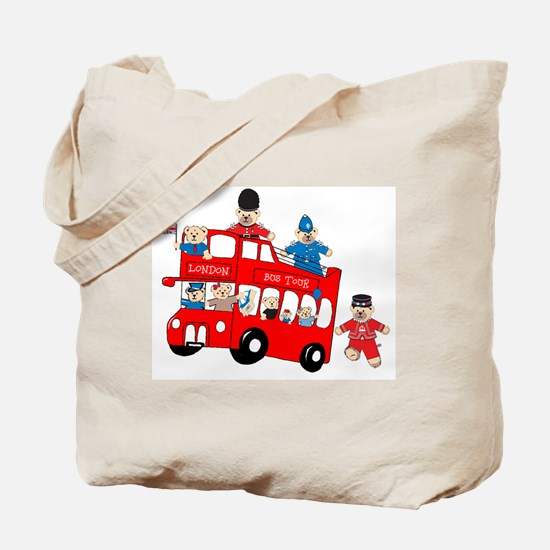 LDN only Bus Tour Tote Bag