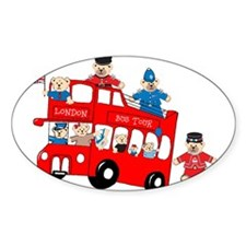 LDN only Bus Tour Oval Sticker