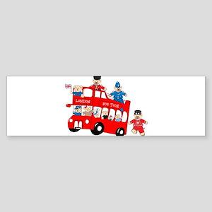LDN only Bus Tour Bumper Sticker