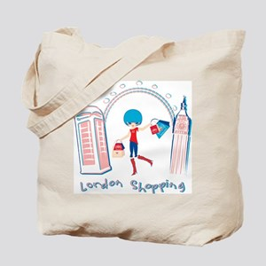 London Shopping Tote Bag