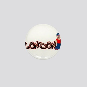 LDN Teddy Bear Mini Button
