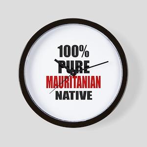 100 % Pure Mauritanian Native Wall Clock