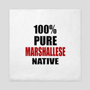 100 % Pure Marshallese Native Queen Duvet