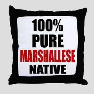 100 % Pure Marshallese Native Throw Pillow