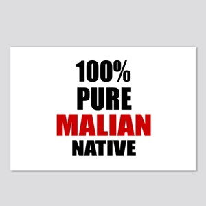 100 % Pure Malian Native Postcards (Package of 8)