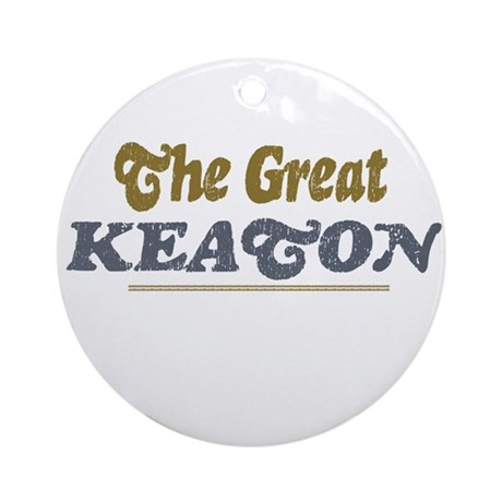 Keaton Ornament (Round)
