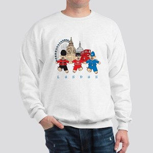 Teddy Holding Hands Sweatshirt