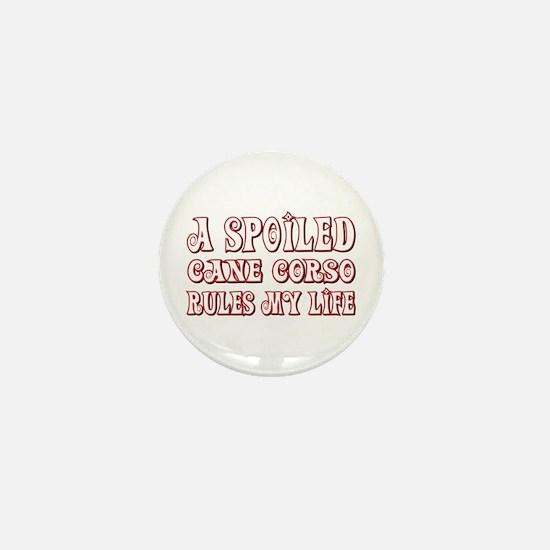 Spoiled Corso Mini Button