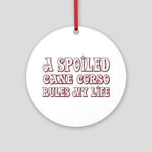 Spoiled Corso Ornament (Round)