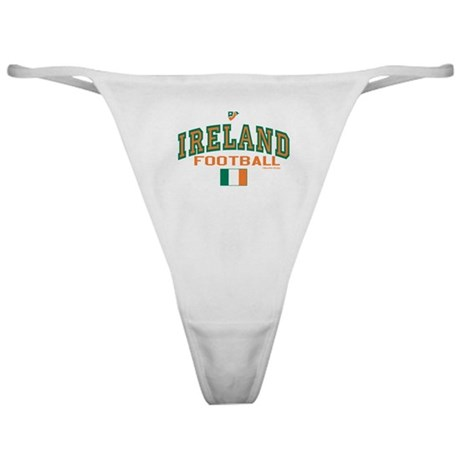 Ireland Football/Soccer Classic Thong