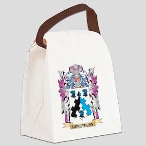 Honeybunn Coat of Arms (Family Cr Canvas Lunch Bag
