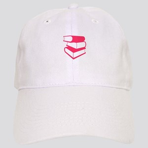 Stack Of Pink Books Cap