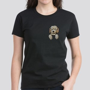 Pocket Doodle Pup Women's Dark T-Shirt