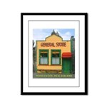 Mangaweka General Store Framed Panel Print