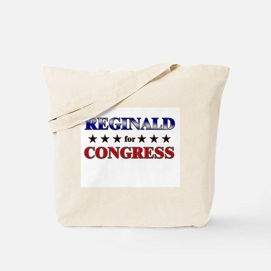 REGINALD for congress Tote Bag