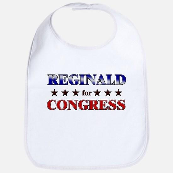 REGINALD for congress Bib