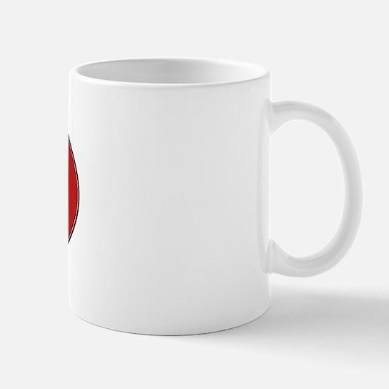 Computer Geek (euro-red) Mug