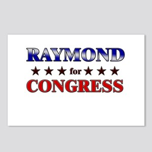 RAYMOND for congress Postcards (Package of 8)