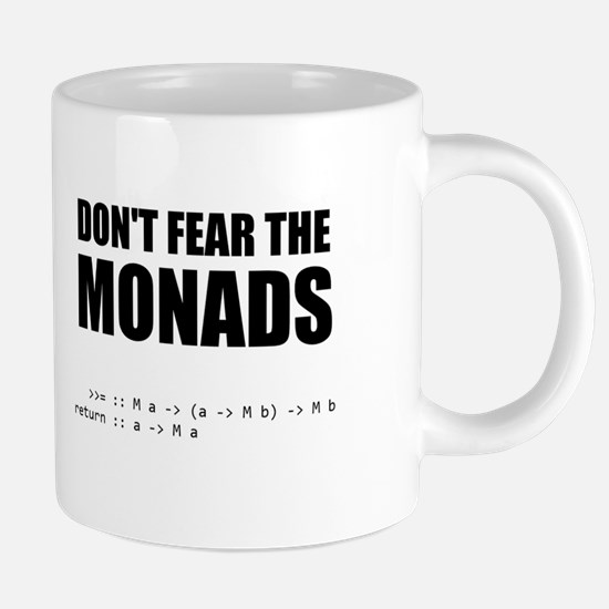 Don't Fear The Monads Mugs